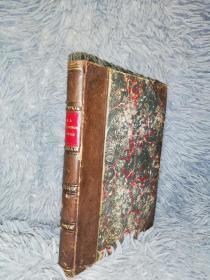 1872年   A Selection of Poetry of Elizabeth Barrett Browning  3/4真皮装帧   15.7X11.5CM