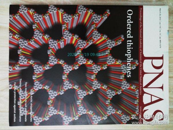 PNAS 2013/03/26 美国国家科学院院刊学术论文原版期刊外文杂志  Proceedings of the National Academy of Sciences of the United States of America