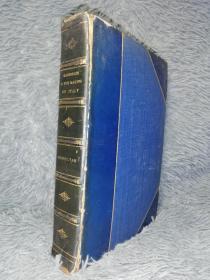 1911年  GARIBALDI AND THE MAKING OF ITALY  含几幅拉页彩色地图  另有大量黑白插图  BY GEORGE MACAULAY  含一副精美藏书票  书顶刷金  半皮装帧  23X15.5CM