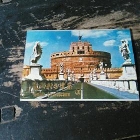 明信片意大利古建筑