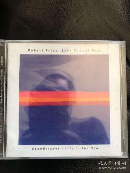 robert fripp,原版cd全新未拆