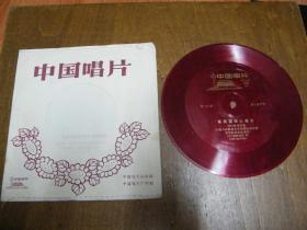 小薄膜唱片: 吹打乐 笛子独奏(军民团结心连心 塞上铁骑)