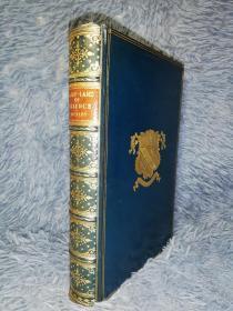 1904年  The Fairy-Land of Science  插图版  私坊TRUSLOVE 全皮装帧 封面饰金图案 三面书口花纹  19.5X13.5CM
