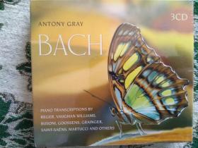 EMI  CD碟  巴赫 钢琴曲  BACH  3CD