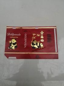 金熊猫烟标,