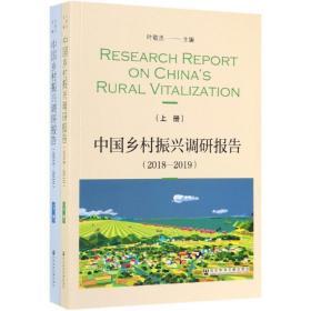 中国乡村振兴调研报告(2018~2019)下