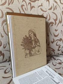 The Book of Ruth -- Arthur Szyk 精美插画  Heritage 1947年出品 超大开本 书盒与sandglass俱全
