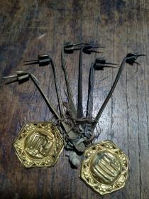 清代  铜工具一套