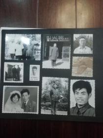 老照片【南京著名火花收藏家翁仰刚及藏友照片共约420张】