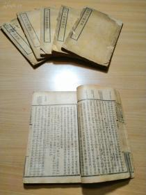 民国出版的书籍《古文辞类纂评注》存6册!!价格便宜!!有三册是古文辞类纂评注,另外三册是古文辞类纂。