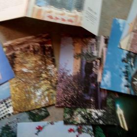 1991年代云南大学明信片10张合售