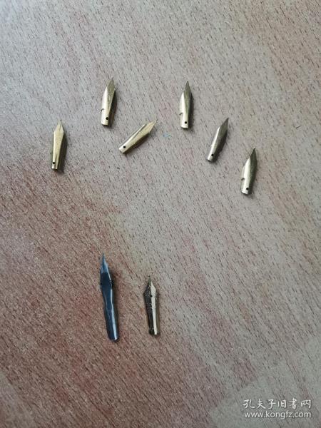 钻石牌钢笔尖6个和其他笔尖2个,看图。