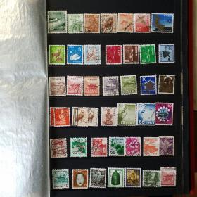 日本邮票。