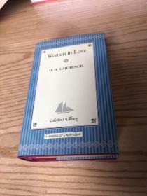 Women in Love[恋爱中的女人](布面精装,金色边)