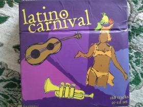 CD碟   拉丁狂欢节Latino Carnival  10CD CD)