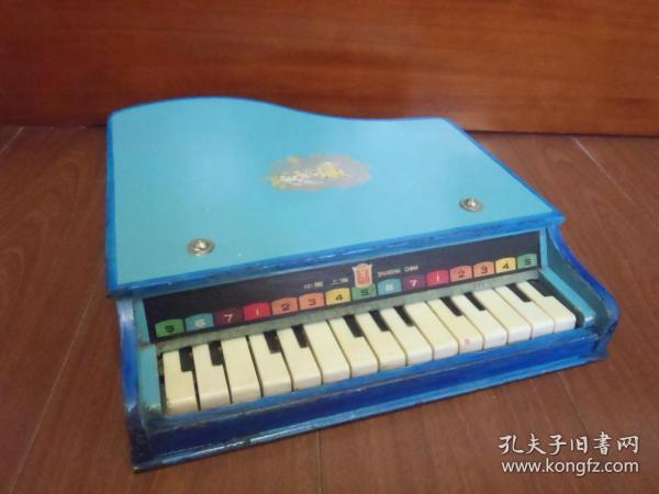 80年代 儿童玩具钢琴 怀旧老玩具收藏