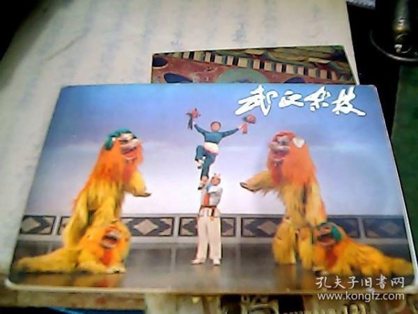 武汉杂技(明信片)全10张