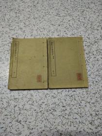 袖珍古书读本四书集注论语(2-3册)共两册     具体看图