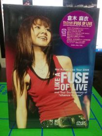 DVD  日版  仓木麻衣2005音乐会