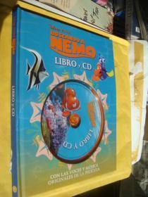 (Disne PIXAR) BUSCANDO A MEMO 西班度语 彩色少儿童书  精装大16开+CD.