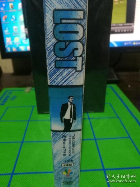 DVD   美剧 迷失第二季  9碟盒装收藏版
