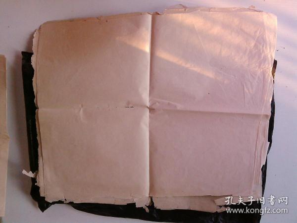 老宣纸 文革宣纸 一尺6张 (共六尺)