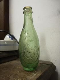 民国中华广州公司汽水瓶