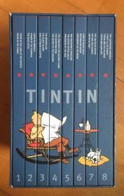丁丁历险记 全套硬皮英文收藏版 The Adventures of Tintin: The Complete Collection