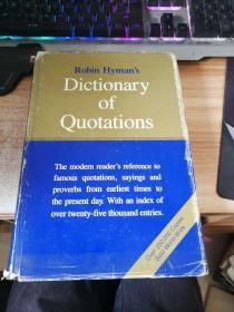 robin hyman's dictionary of quotations