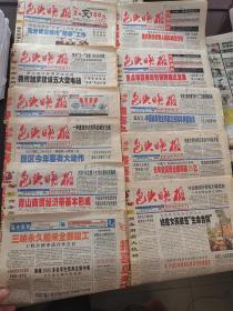 包头晚报2003年2-3月每日8-16版2月8日燃油价格春节上涨、9日温州GDP破千亿、3月全国两会新闻、伊拉克战争报道31日小尾羊公司成立 共44份