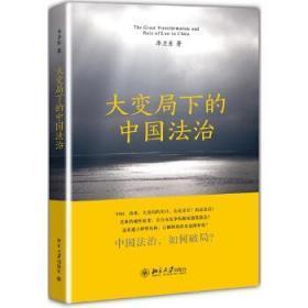 正版现货 大变局下的中国法治 季卫东  北京大学出版社 9787301219560 书籍 畅销书