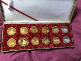 美国纪念章(12枚4种)