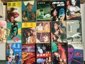 日本通俗文学作家西村寿行作品(16本合售)
