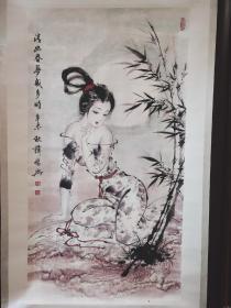 薛林兴的绘画艺术题材多以仕女人物为主,多年来将传统的意境美、古希腊的人体美、古印度的性感美三大艺术体系融于一身,创造了具有东方神韵的新仕女画派,完美地诠释了东方美神这个主题,被誉为东方的维纳斯,在中国画坛独树一帜,在国内外具有广泛影响。其作品的艺术价值和经济价值的成就,使其成为社会转型期代表性人物。现任中央国家机关美术家协会副主席,全国工商联书画院执行院长,中国美术家协会会员。