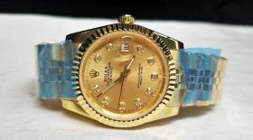 世界顶级名表【劳力士】腕表 带盒子 表重116g
