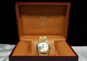 世界顶级名表【欧米茄】腕表 带盒子 发票 表重152g