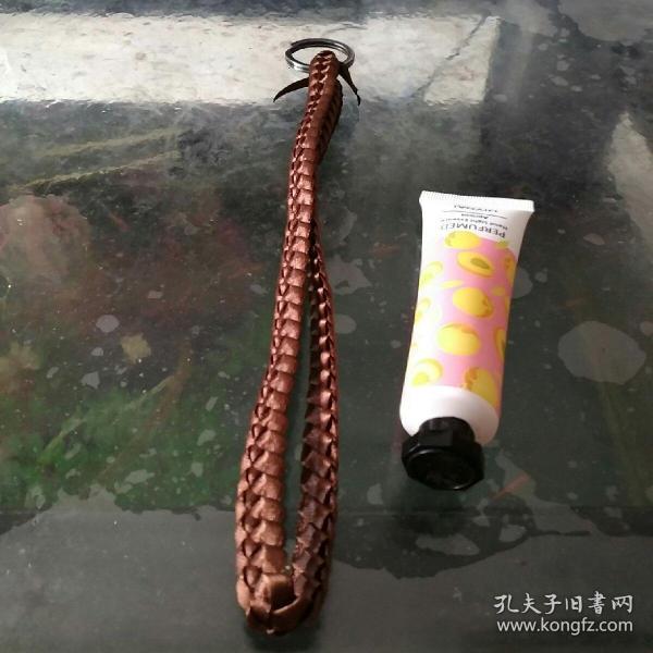 彩带编织钥匙链③