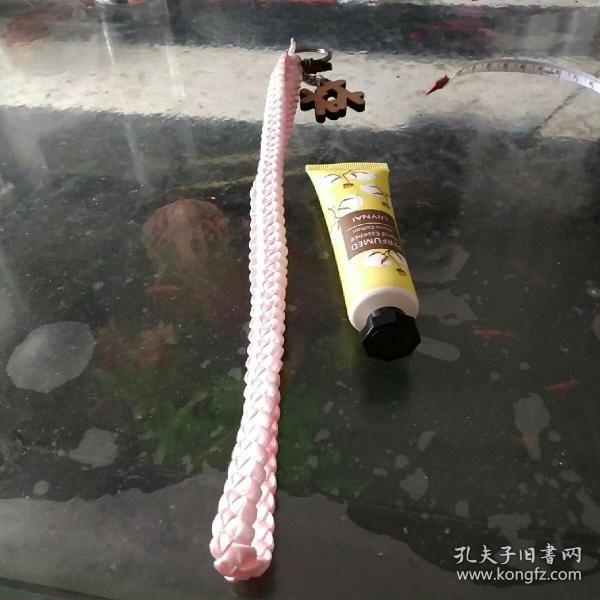 彩帶編織鑰匙鏈⑨手牽手