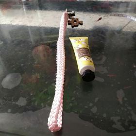 彩带编织钥匙链⑨手牵手