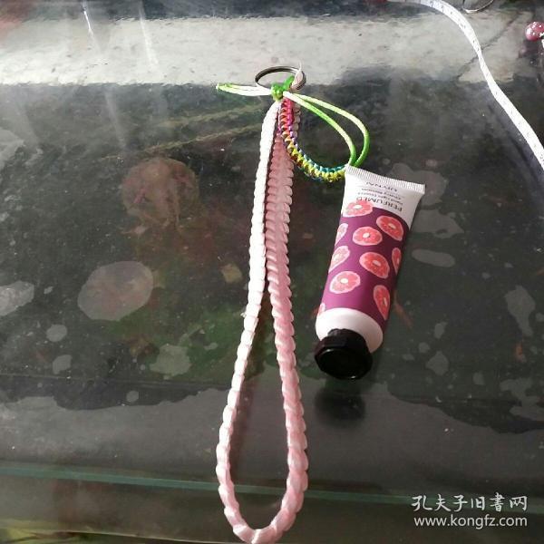 彩帶編織鑰匙鏈⑩彩虹繩