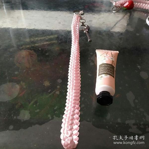 彩带编织钥匙链12月亮魔法棒