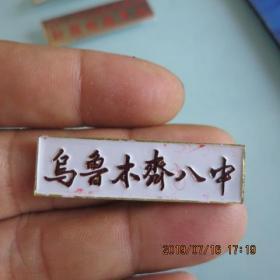 新疆乌鲁木齐八中学校徽(如图,只发快递)