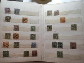 早期民国邮票及普票一本3254