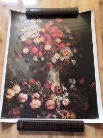 静物 花卉   馆藏油画精印海报装饰挂画