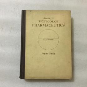 Bentleys TEXTBOOK OF PHARMACEUTICS E.A.Rawlins Eighth Edition 本特利药剂学教科书 第8版