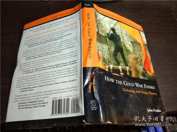 原版英法德意等外文 HOW THE COLD WAR ENDED/JOHN PRADOS 2011年 小16开硬精装