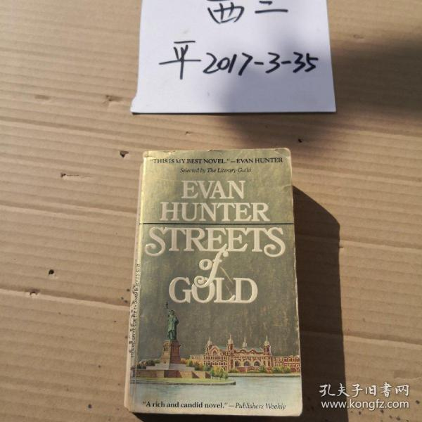Evan hunter  Streets of Gold
