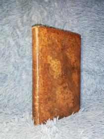 1811年  THE LAY OF THE LAST MINSTREL  A POEM  全皮装帧  三面书口花纹 21.5X13.7CM   早期版本
