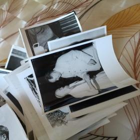 毛主席照片62张合售如图  32开大  包老