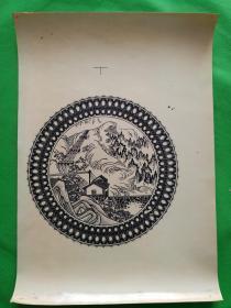 唐山陶瓷贴花纸---样品3